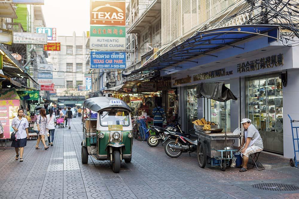 Bangkok, Chinatown District, Thanon Phadungdao Street