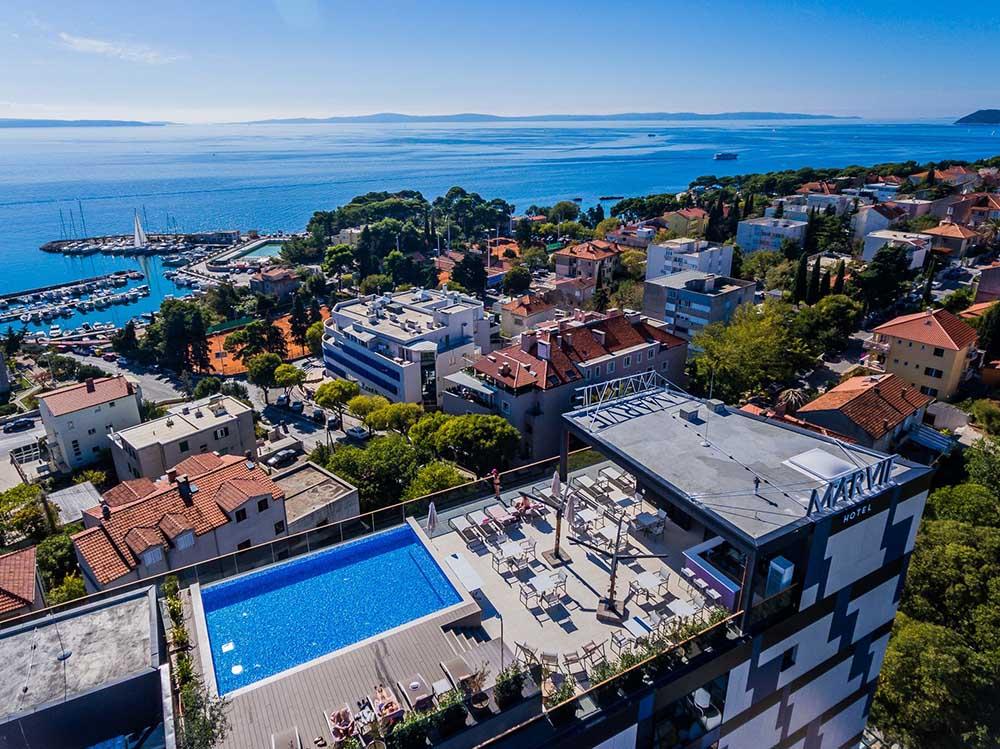 Marvie Hotel & Health for digital nomads in Split Croatia